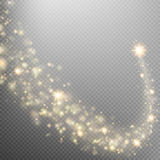 Cauda do cometa do espaço Eps 10 Imagens de Stock