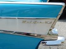 Cauda traseira de Chevy Bel Air foto de stock