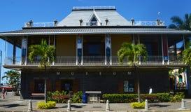 Caudan strand Musuem, Port Louis, Mauritius Arkivfoton