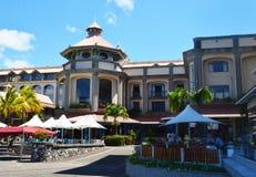 Caudan strand, Port Louis, Mauritius Arkivbilder