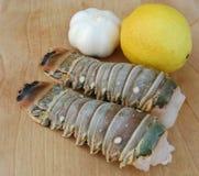 Caudas de lagosta Imagens de Stock