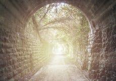 Caudiel tunel zdjęcie royalty free