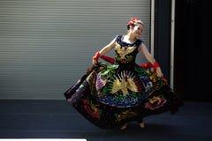 Caudillos台尔苏尔Mexican伙计芭蕾 库存照片