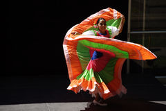 Caudillos Del Sur Mexican Folk Ballet, All Over the Map Stock Image