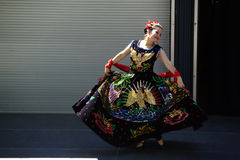 Caudillos Del Sur Mexican Folk Ballet Stock Photo