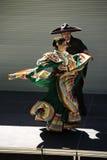 Caudillos Del Sur Mexican Folk Ballet, por todo o lado no festival do mapa Fotografia de Stock