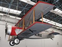 Caudron C 60 1921 dans le musée de l'astronautique et de l'aviation L Photographie stock libre de droits