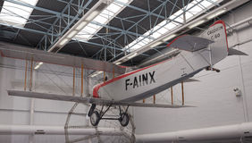 Caudron C 60 & x28; 1921& x29; i museet av astronautik och flyg Arkivfoton
