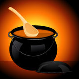 Cauldron Royalty Free Stock Image