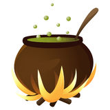 Cauldron Royalty Free Stock Photography