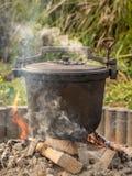 cauldron Lizenzfreie Stockfotos