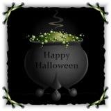 Cauldron Greetings Stock Photo
