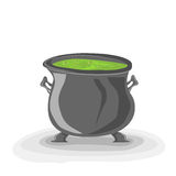 Cauldron Royalty Free Stock Photos