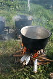 Cauldrons Stock Photography