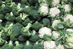 cauliflower брокколи свежий Стоковое фото RF