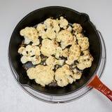 cauliflower зажарил в духовке Стоковое фото RF