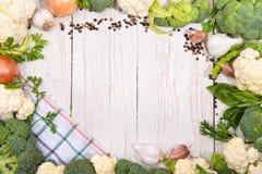 Cauliflower и брокколи Стоковые Изображения RF