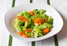 cauliflower морковей брокколи Стоковые Фотографии RF