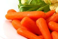 cauliflower морковей стоковые изображения rf