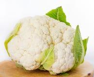 Cauliflower на белой предпосылке Стоковые Изображения RF