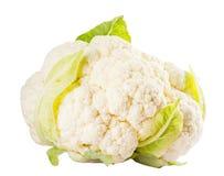 Cauliflower на белой предпосылке Стоковое Изображение RF