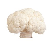 Cauliflower. A cauliflower, isolated on white Royalty Free Stock Photos