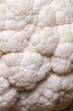 Cauliflower. Detail of a fresh white cauliflower Stock Photos