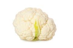 Cauliflower. Luscious cauliflower on a white background Royalty Free Stock Photo
