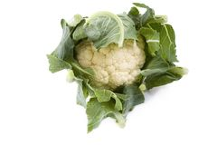 Cauliflower. Fresh from the farmer's market Stock Images