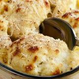 Cauliflower Au Gratin Stock Photography