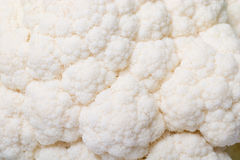 Cauliflower background Royalty Free Stock Photos