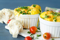 Cauliflower baked Royalty Free Stock Photo