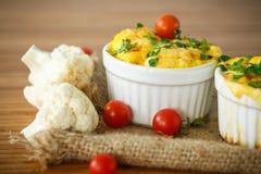 Cauliflower baked Stock Photography