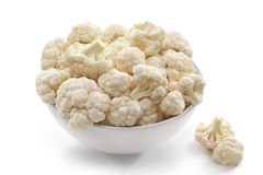 Cauliflower in bowl Stock Photography