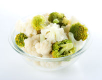 Cauliflower and broccoli Royalty Free Stock Image