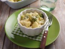 Cauliflower and broccoli cheese Royalty Free Stock Photo