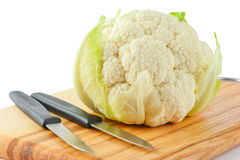 Cauliflower cabbage Stock Images