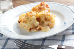 Cauliflower casserole Stock Images