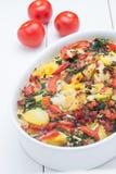 Cauliflower casserole. A delicious vegetarian cauliflower casserole Stock Images