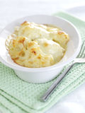 Cauliflower cheese Royalty Free Stock Photo
