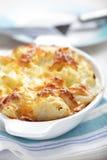 Cauliflower cheese Stock Image
