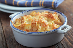 Cauliflower cheese Royalty Free Stock Photography