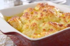 Cauliflower cheese Royalty Free Stock Photos