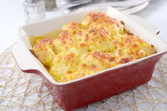 Cauliflower cheese Stock Images
