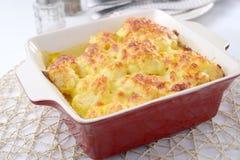 Cauliflower cheese Stock Images