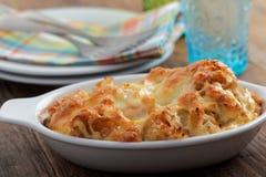 Cauliflower cheese Royalty Free Stock Image
