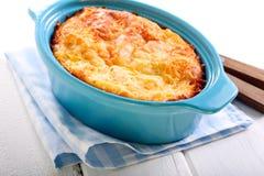 Cauliflower and cheese gratin Stock Photo