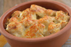Cauliflower cheese Stock Photography