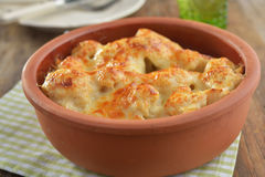 Cauliflower cheese Stock Photos