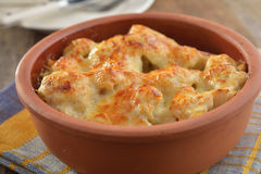 Cauliflower cheese Royalty Free Stock Image